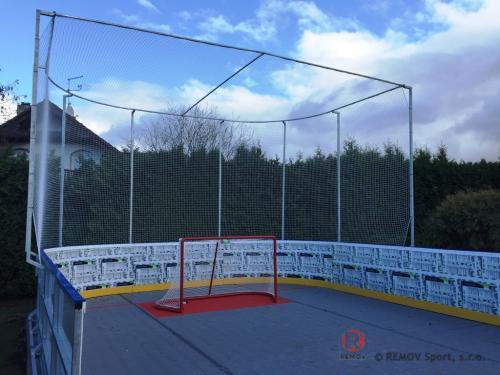 Hokejová střelnice - tréninková střelnice - Brezen 2019 - CZ -  Hokejová střelnice dle požadavků zákazníka. Training zóna pro trénování...