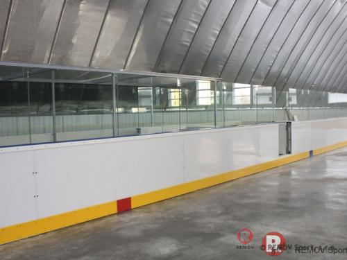 Hokejové mantinely EURO EXTRA - Zimní stadión Nitra - březen 2013 - SK -  Nově dokončené hokejové mantinely EURO EXTRA v Nitře. Mantinely...