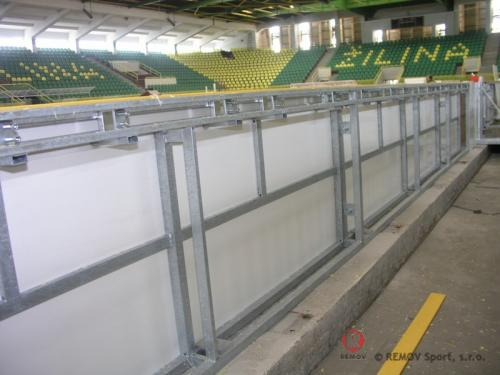 Zimní stadion v Žilině - únor 2009 - SK -  Na zimním stadionu v Žilině jsou také nejnovější hokejové...
