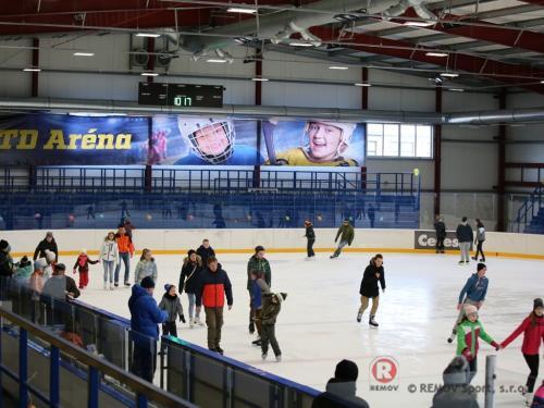 Hokejové mantinely -  ZS Vranov nad Topľou - Září 2016 - SK -  Pohled na dokončené hokejové mantinely EURO EXTRA pro nově...
