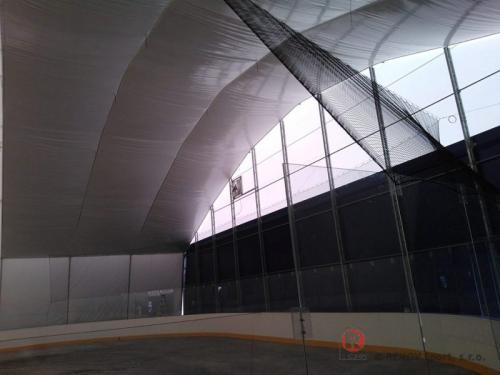 Sabinov - hokejové mantinely - Září 2014 - SK - Právě jsme dokončili hokejové mantinely EURO EXTRA pro nově zastřešenou...