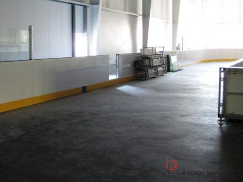 Hokejové mantinely - Zimní stadion Velký Krtíš - září 2011 - ČR -  V pátek jsme dokončili a úspěšně předali hokejové mantinely...
