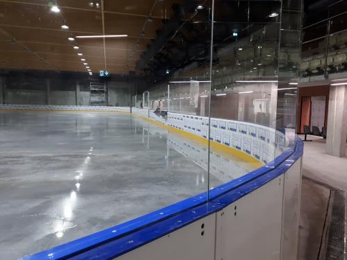 Hokejové mantinely EURO EXTRA - Pro další hokejovou arénu jsem realizovzali profesionální hokejové...