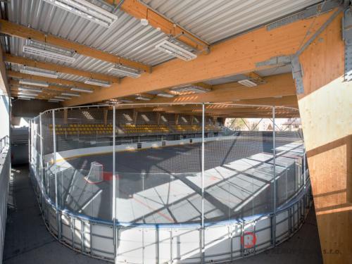 Aréna - Hokejbalové mantinelu EURO HOKEJBAL - březen 2021 - CZ - Další z produkce hokejbalových arén s mantiely EURO HOKEJBAL na...