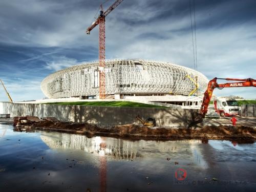 Aréna Krakow - zahájení montáže kotevních prvků - Březen 2014 - PL - Dnes jsme zahájili montáž kotevních prvků pro novou arénu v...