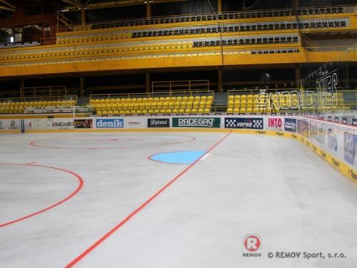 Rekonstrukce na ZS Ivana Hlinky v Litvínově - Srpen 2013 - ČR -   Rekonstrukce zimního stadionu Ivana Hlinky v Litvínově se...