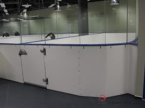 Hokejové mantinely - Síň slávy, Galerie Harfa - Březen 2015 - ČR - Český hokej má konečně svou kamennou Síň slávy. Naše společnost...
