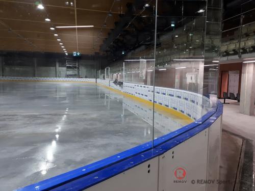 Hokejové mantinely EURO EXTRA - únor 2021 - PL - Pro další hokejovou arénu jsem realizovzali profesionální hokejové mantiely EURO...