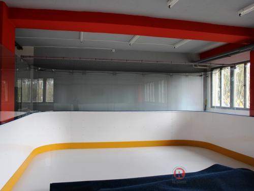 Training center - hokejové mantinely EURO EXTRA - Březen 2015 - ČR - Pro našeho klienta jsme realizovali hokejové mantinely pro nově vzniklé...