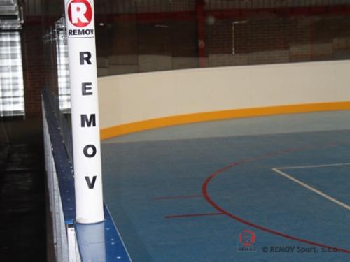 Zimní stadión Mladá Boleslav - hokejové mantinely - duben 2012 - ČR - V Mladé Boleslavi jsme dokončili nové hokejové mantinely EURO EXTRA....