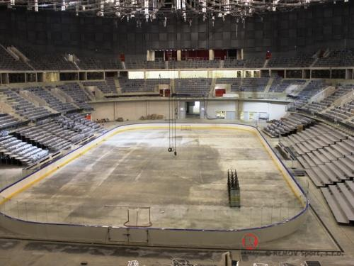 Hokejové mantinely - EURO EXTRA, Aréna Krakow - Duben 2014 - PL -    Dnes jsme v polském Krakově dokončili horizontálně...