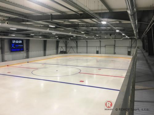 Hohejové mantinely Zvolen - Prosinec 2019 - SK  - Dlaší z řady hokejových mantinelu EURO EXTRA pro nově vzniklou...