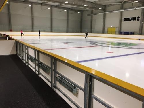 Hokejové mantinely ŠKODA Icerink - Praha -   Pro nejmodernější zimní stadion v Praze...