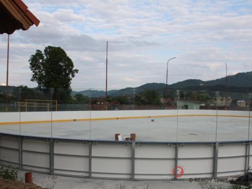 Hokejové mantinely - Spišské Vlachy - červen 2012 - SK - Hokejové mantinely EURO EXTRA ve Spišských Vlachách