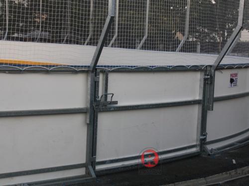 Hokejbalové mantinely -