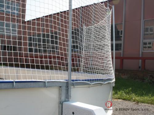 Rekreační mantinely - Norsko, Oslo - červen 2013 - Norsko - Velmi žádané rekreační mantinely se sítěmi pro zákazníka v Norsku....