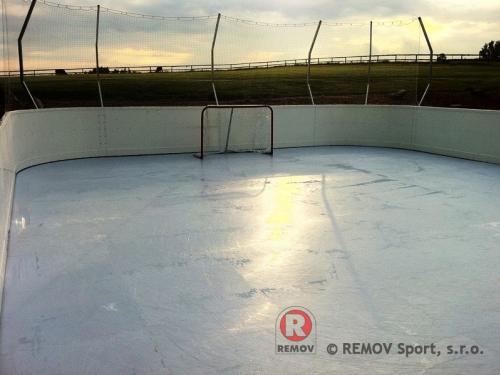 Bandy do polimerowego lodu -