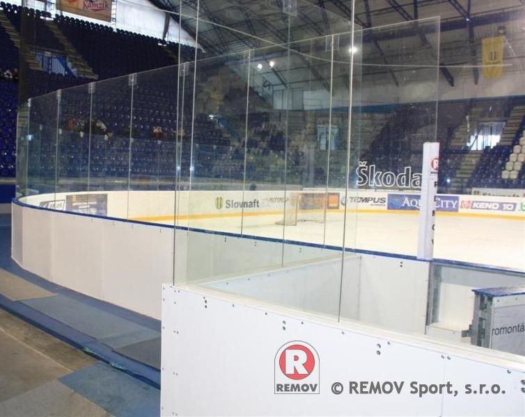 Hockey boards EURO EXTRA - rear casing