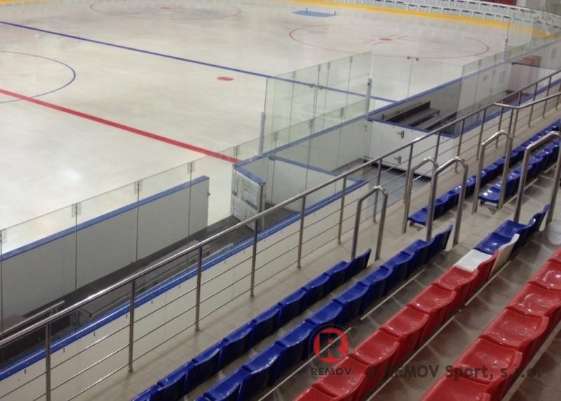 Hockey boards EURO EXTRA - players bench