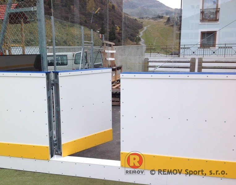 Atypical boards - increased rinks to 1460 mm