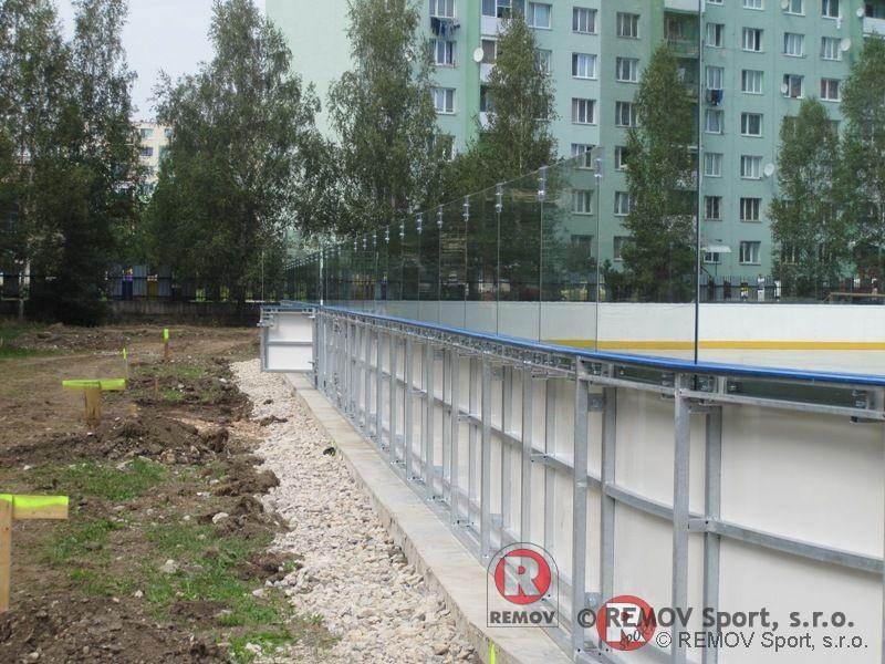 Profesionální hokejbalové mantinely - EURO HOKEJBAL