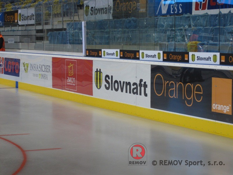 Hockey boards EURO EXTRA - detail cushion