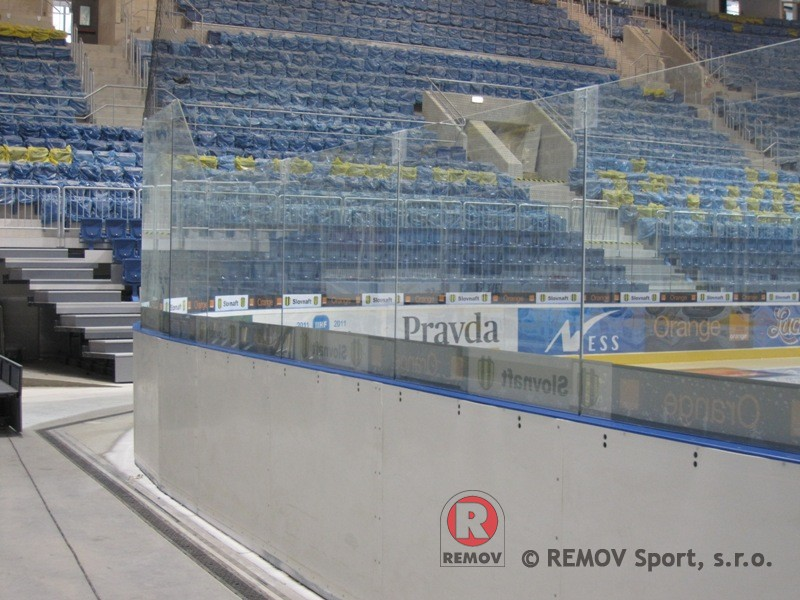 Hockey boards EURO EXTRA - rear casing cushion