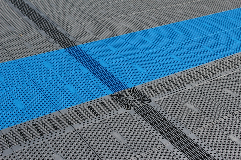 New generation artificial surface - in-line surface