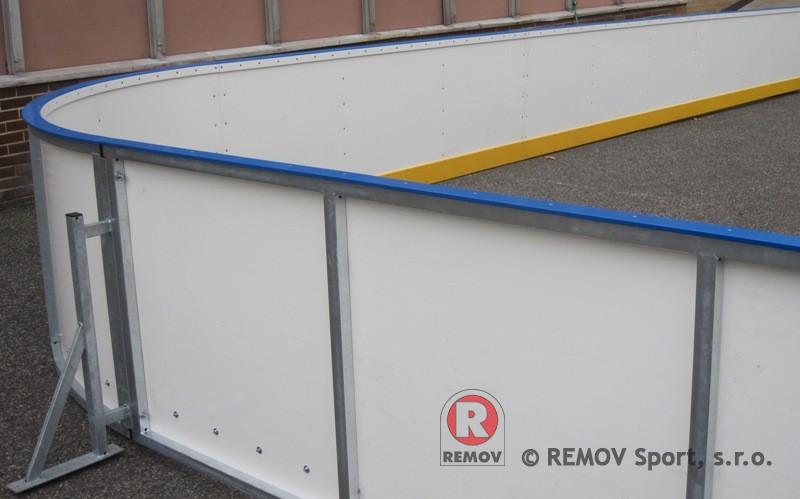 Mobile boards - anchoring to asphalt