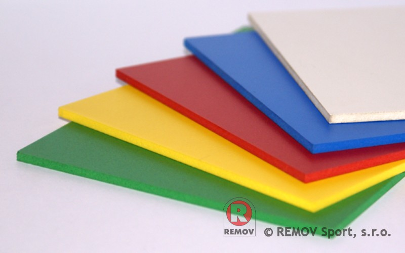 Nahradní díly - desky PE-HD s UV stabilizací - probarvené