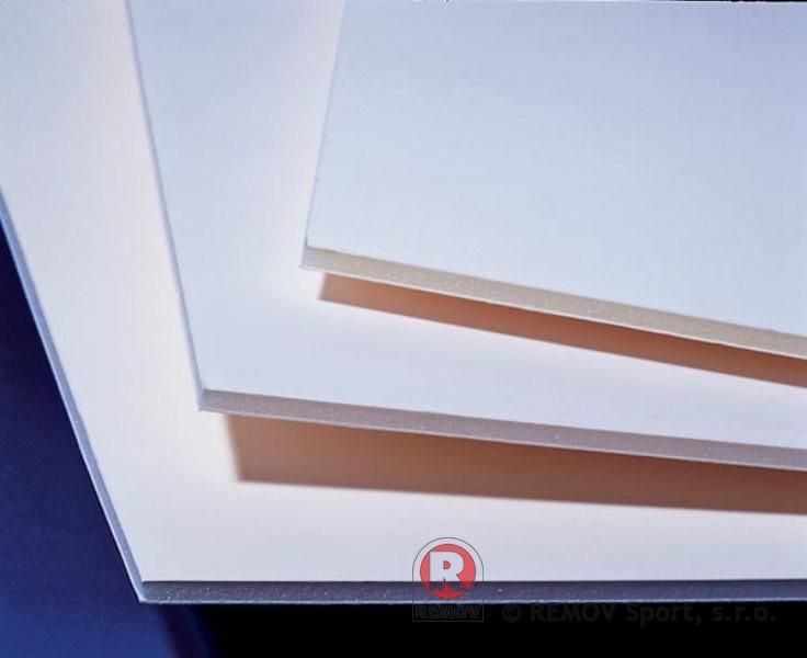 Nahradní díly - desky PE-HD s UV stabilizací bílé